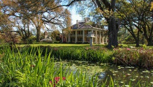 Ruta por las plantaciones de Nueva Orleans (Louisiana)