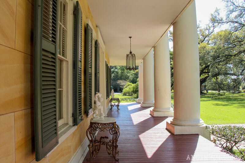 Mejores plantaciones de Louisiana Houmas House