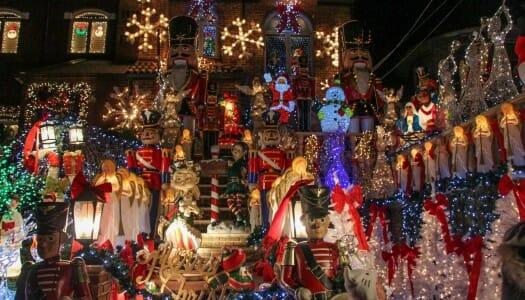 Las luces navideñas de Dyker Heights