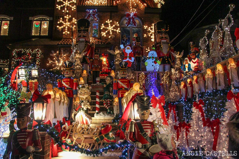 Visitar luces de Navidad de Dyker Heights Nueva York,1; Decoraciones