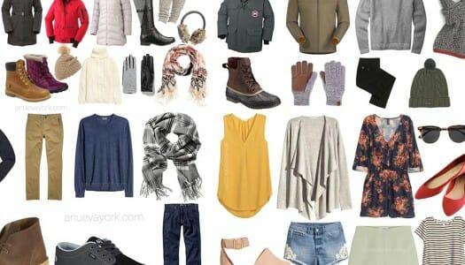 El tiempo en Nueva York, y qué ropa llevarte según la época
