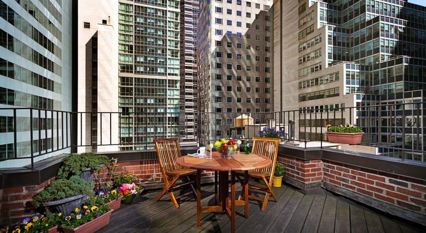 Hoteles romanticos y lujo Nueva York Hotel Elysee 2