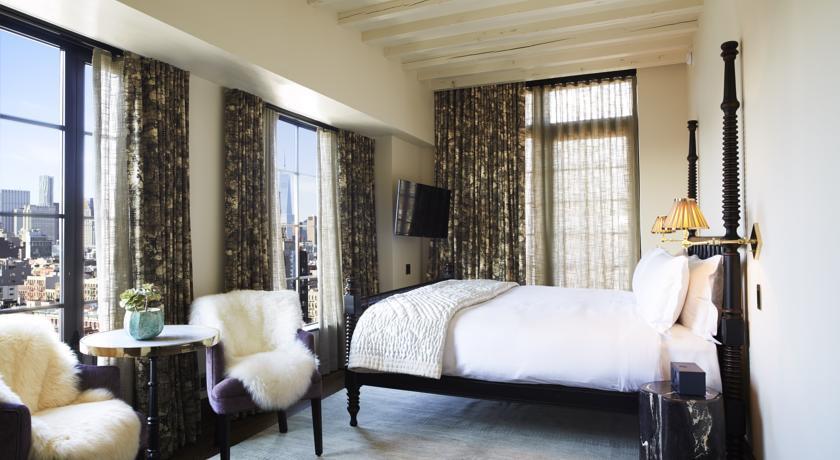 Hoteles romanticos y lujo Nueva York The Ludlow Hotel