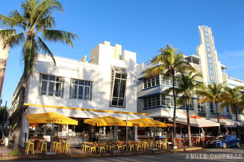 Que ver en Miami en 2 dias Ocean Drive Art Deco