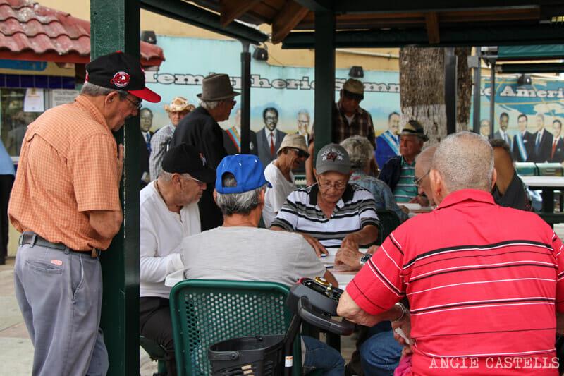 Que ver en Miami en 2 dias Pequena Habana Domino Park