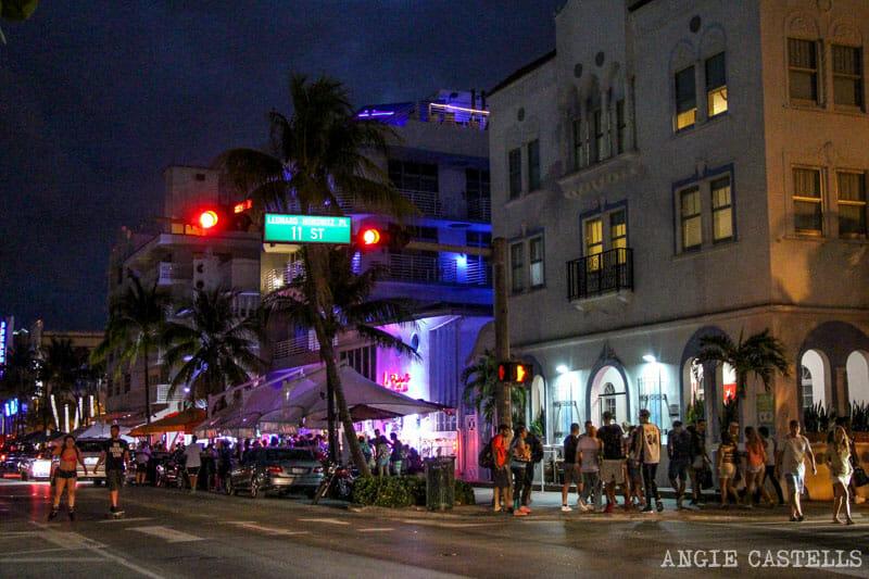 Que ver en Miami en 2 dias ambiente nocturno