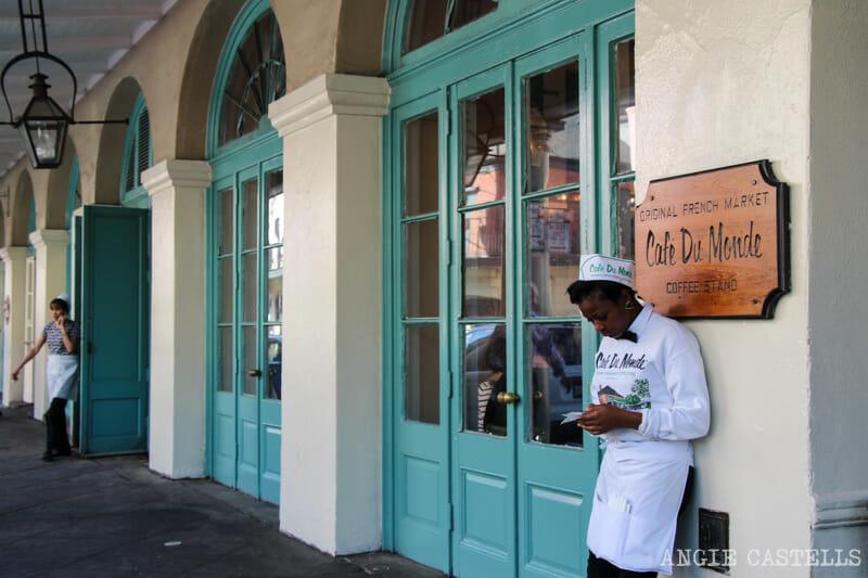 Guia de Nueva Orleans Cafe du Monde