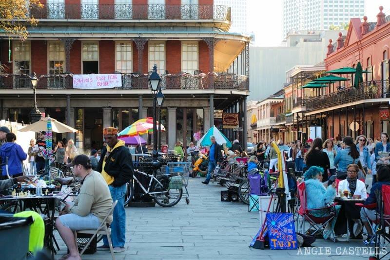Guia de Nueva Orleans French Quarter Jackson Square