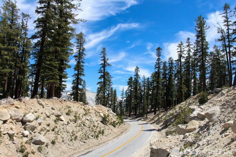 Ruta Costa Oeste USA Itinerario Yosemite