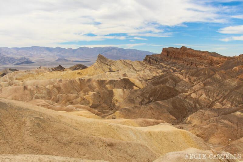 Costa Oeste Death Valley Zabriskie Point