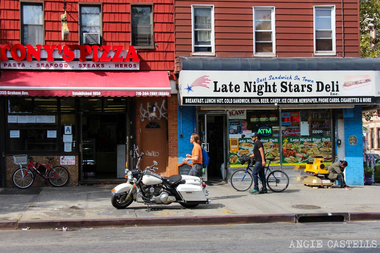 Diccionario de Nueva York palabras típicas Deli Bodega