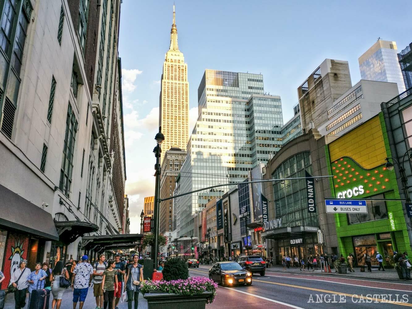 Donde comprar ropa en Nueva York las mejores tiendas