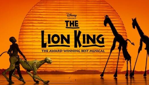 El Rey León, el musical más emocionante de Broadway