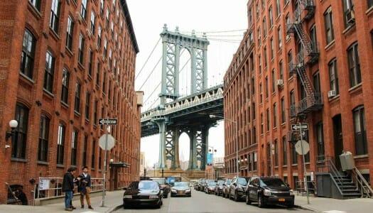 Cruzar el puente de Manhattan a pie