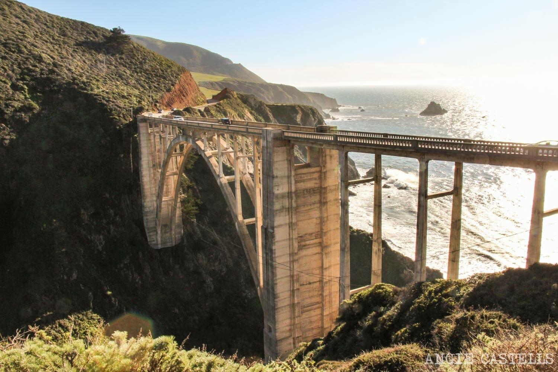 Recorrer carretera Big Sur Pacific Coast Highway California Bixby Bridge