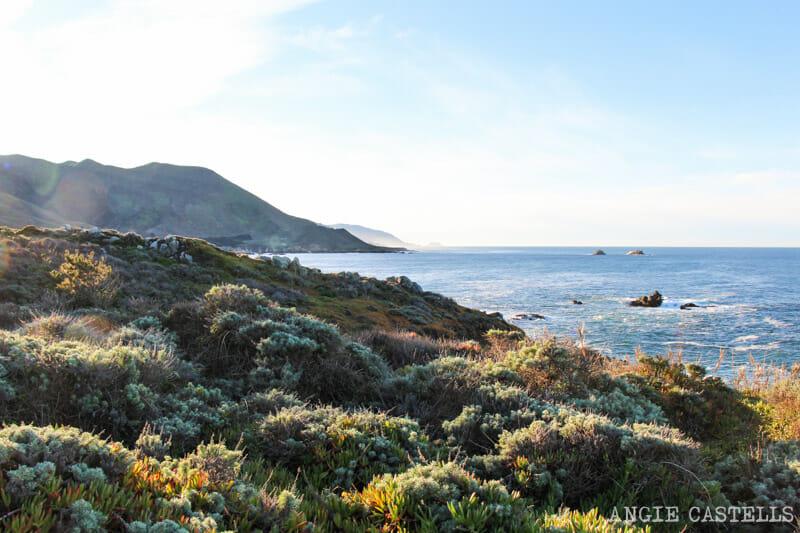 Recorrer carretera Big Sur Pacific Coast Highway California Garrapata State Park