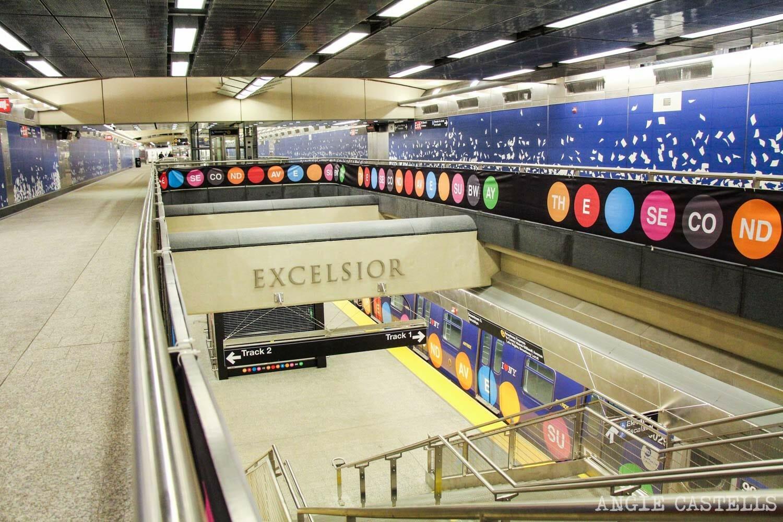 Metro Nueva York Estaciones nuevas 2nd Avenue Subway