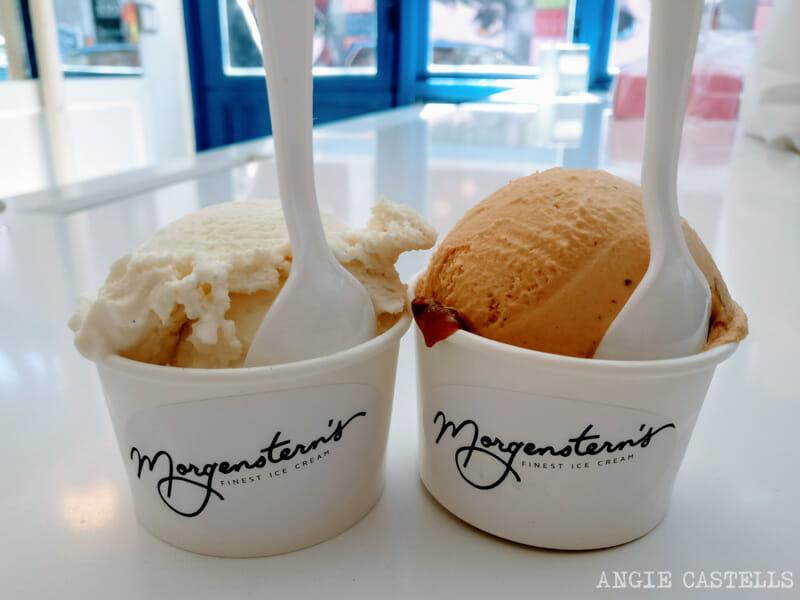 Mejores helados Nueva York Morgensterns