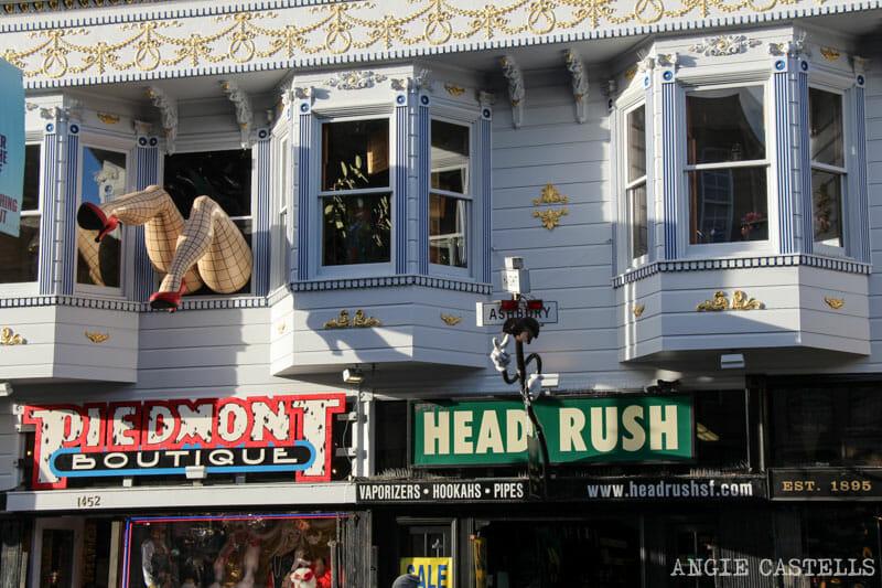Que ver San Francisco Itinerarios Ashbury y Height