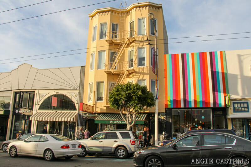 Que ver San Francisco Itinerarios Barrio La Marina