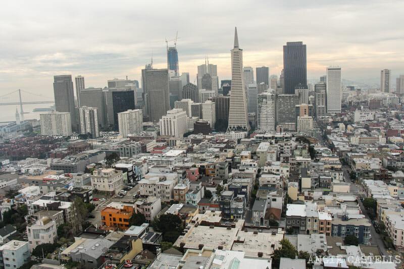 Que ver San Francisco Itinerarios Coit Tower
