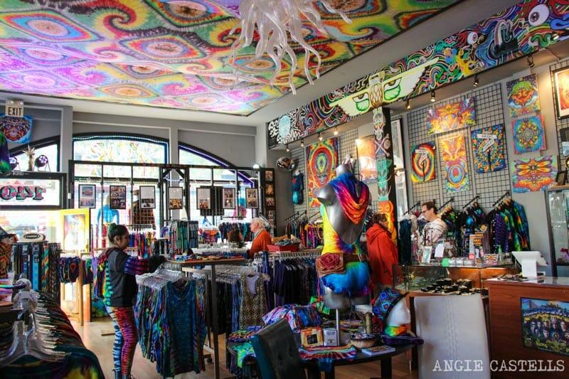 Que ver San Francisco Itinerarios Haight Ashbury Hippie