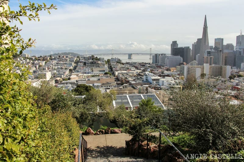 Que ver San Francisco Itinerarios Inna Coolbrith Park