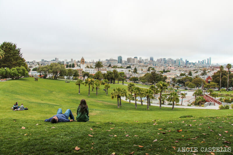 Que ver San Francisco Itinerarios Mission Dolores Park