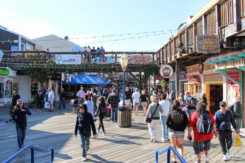 Que ver San Francisco Itinerarios Pier 39