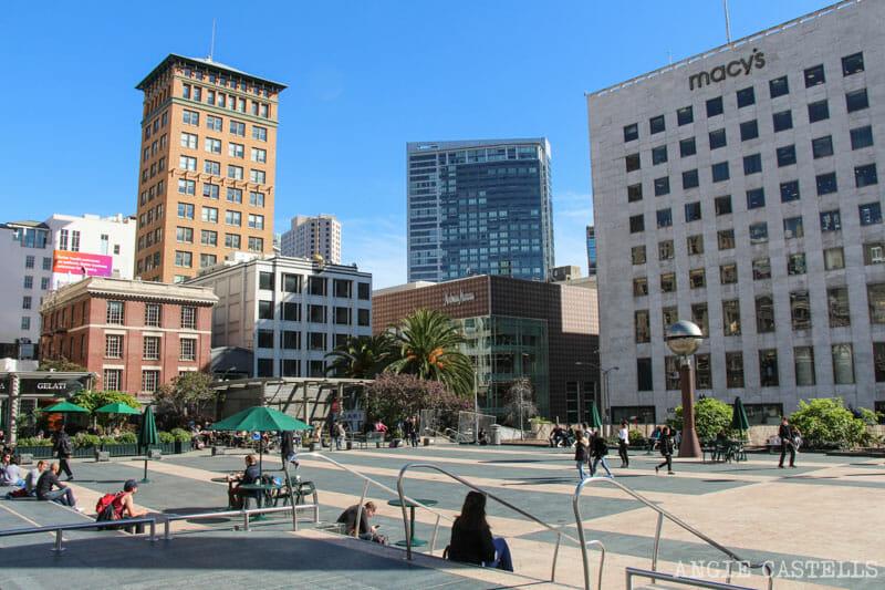 Que ver San Francisco Itinerarios Union Square