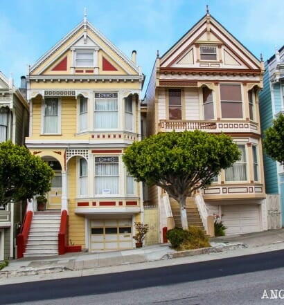 Que ver San Francisco Itinerarios 1500 Painted Ladies