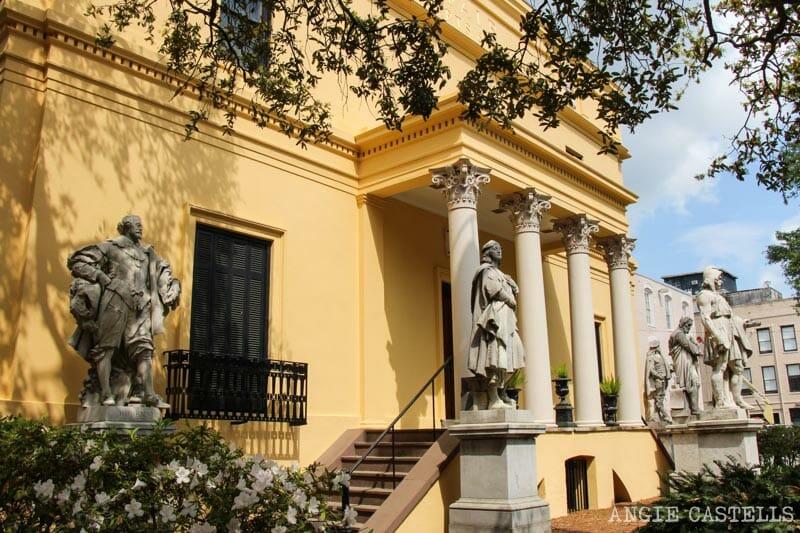 Guia de Savannah que ver y hacer Telfair Academy