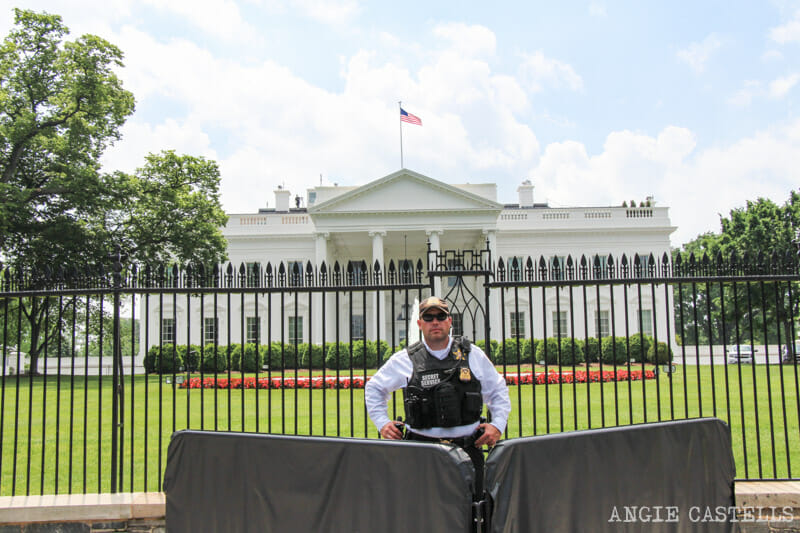 Guia Washington DC Que ver Excursion desde Nueva York La Casa Blanca