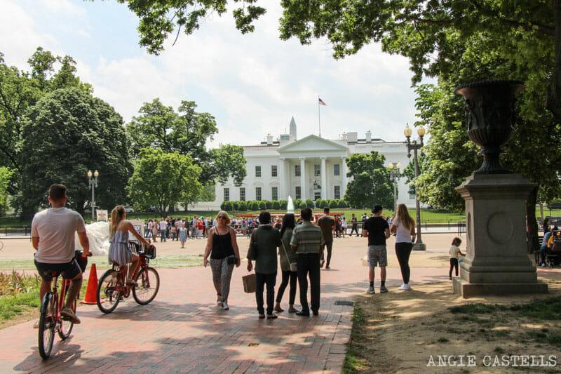 Guia Washington DC Que ver Excursion desde Nueva York White House
