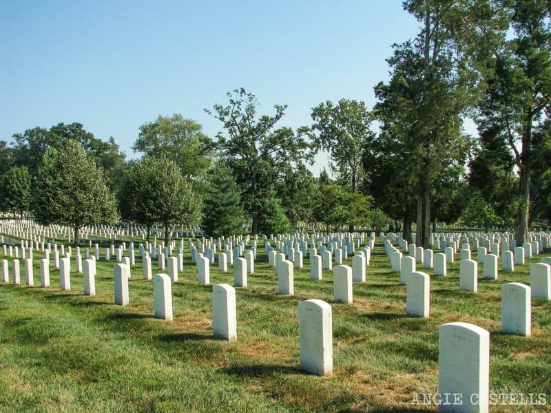 Guia de Washington DC Que ver Cementerio Arlington