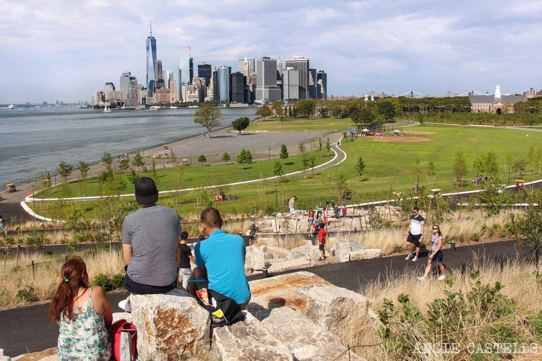 Visitar Governors Island Nueva York ferry 1500
