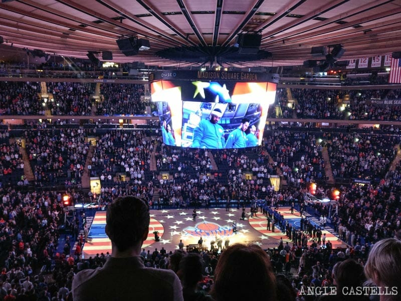 Partidos NBA Nueva York Madison Square Garden Knicks