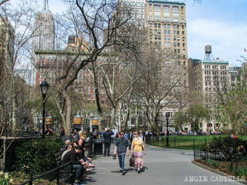 Barrios de Manhattan Mapa Madison Square Park