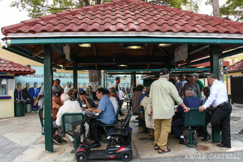 Que ver en Miami en 2 dias Domino Park Pequena Habana