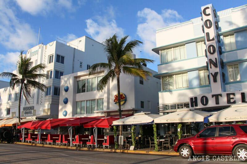 Que ver en Miami en 2 dias Ocean Drive edificios Art Deco