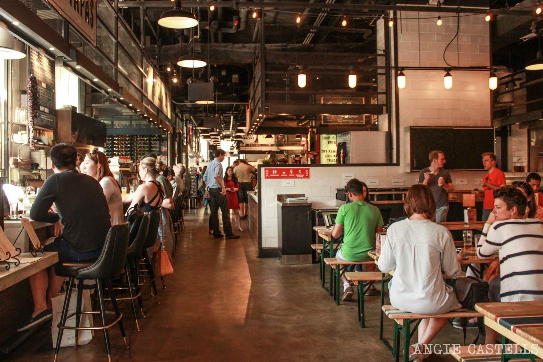 Comer en Nueva York Gotham West Market-1