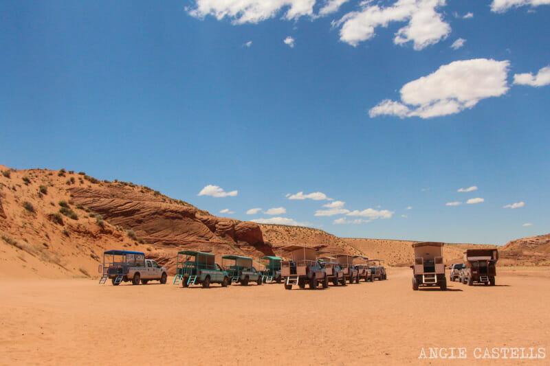 Como visitar Antelope Canyon Ruta Costa Oeste
