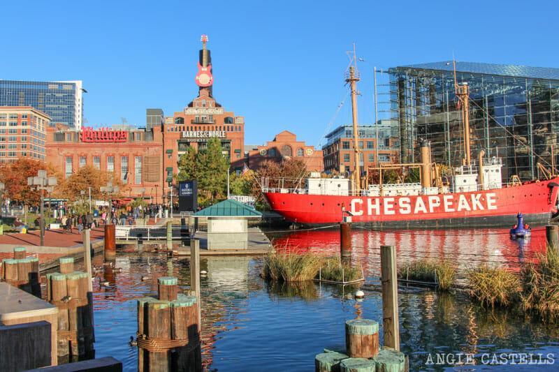 Guía de Baltimore qué ver en 2 días Power Plant