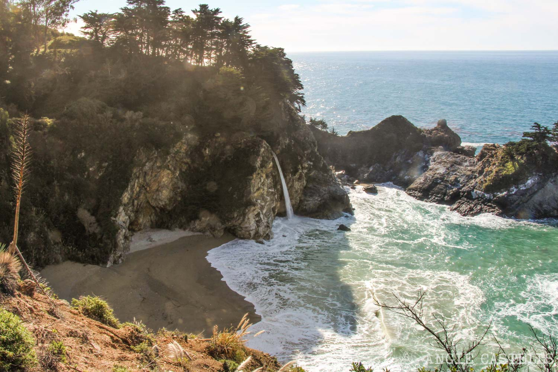 Recorrer carretera Big Sur Pacific Coast Highway California Julia Pfeiffer