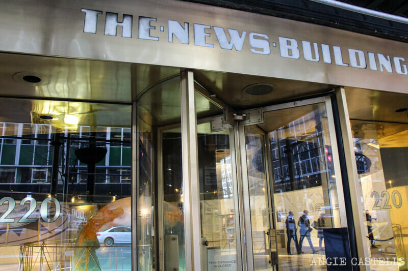 Visitar Daily News Building Nueva York Superman