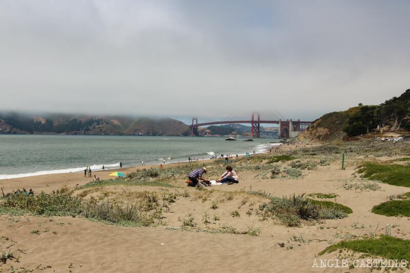 Que ver San Francisco Itinerarios Baker Beach