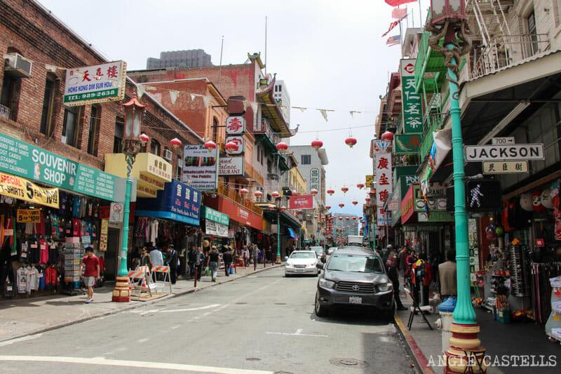 Que ver San Francisco Itinerarios Chinatown