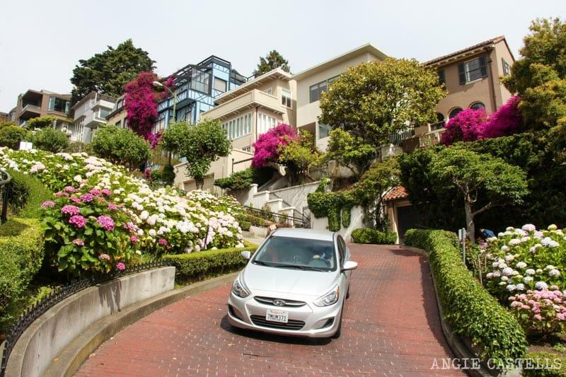 Que ver San Francisco Itinerarios Lombard St