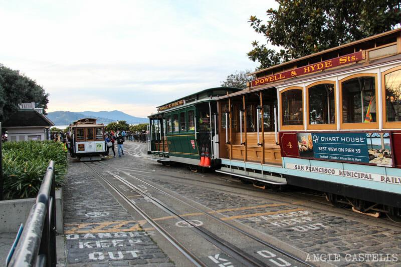 Que ver San Francisco Itinerarios Tranvias
