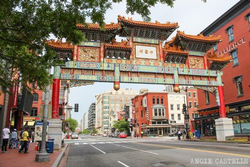 Guia Washington DC Que ver Excursion desde Nueva York Chinatown